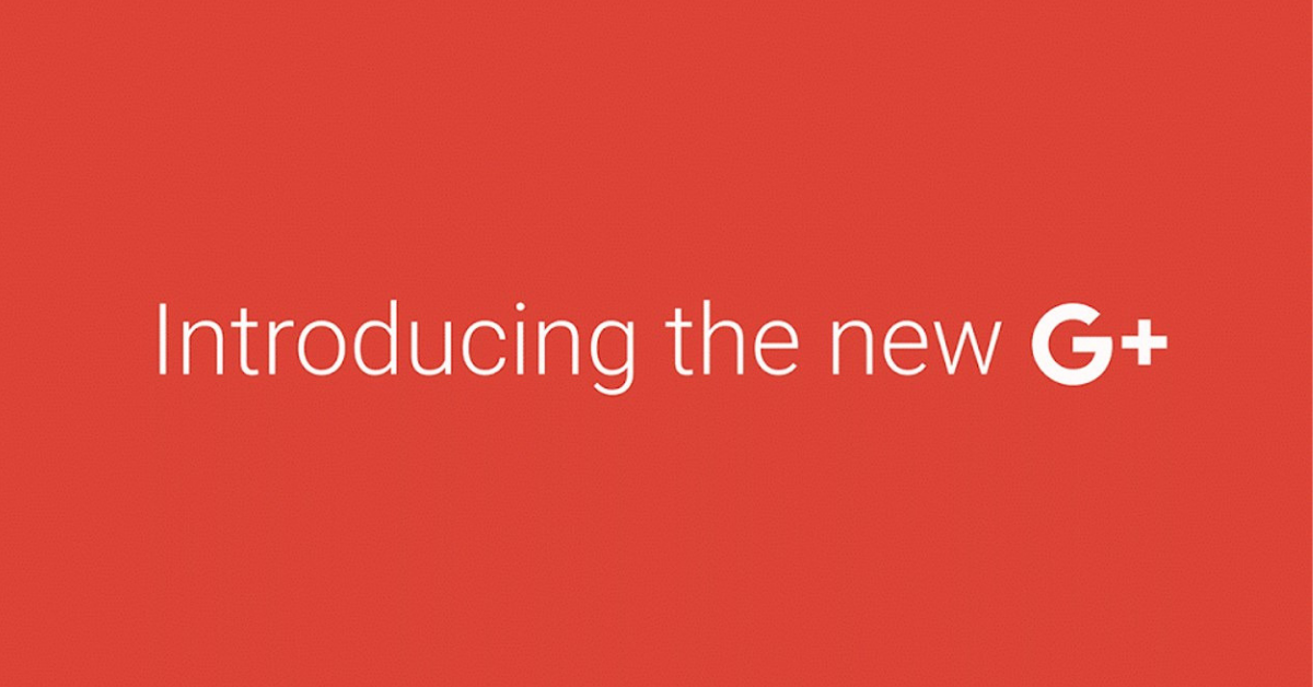 Google+ Nuova interfaccia