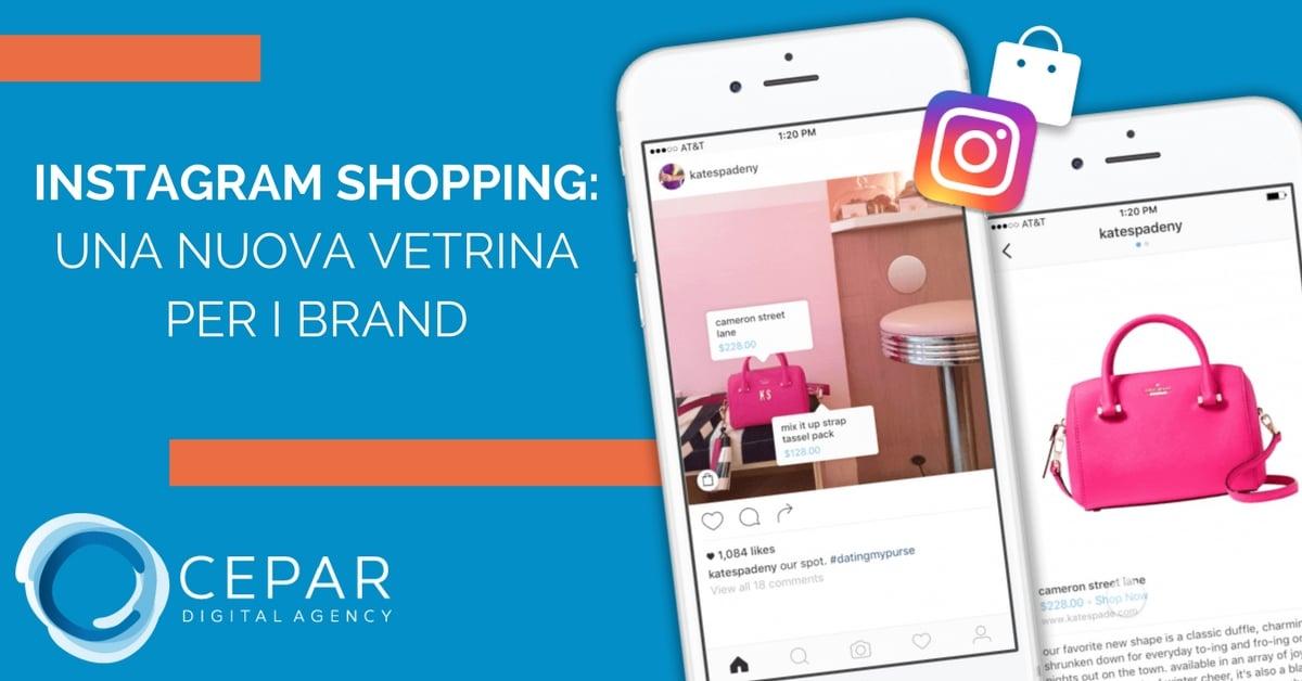 Novità Instagram Shopping come funziona-1