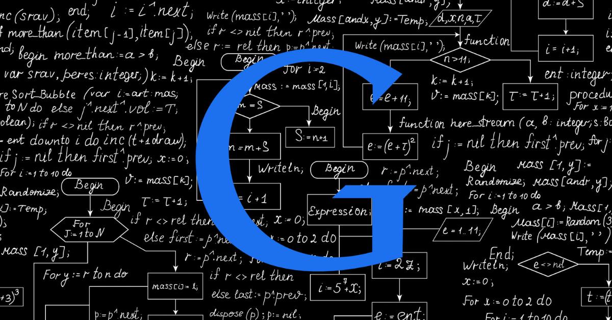 google blueg algorithm